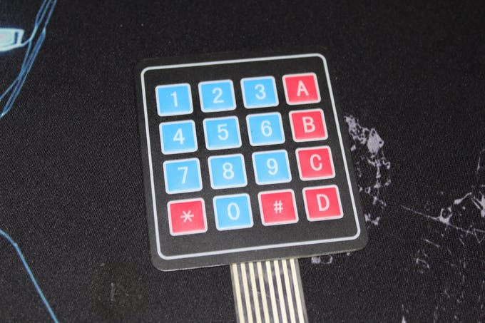 4x4 Keypad matrix you can use 3x4 one for the Version 2