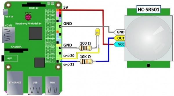 CHHAH$ New HC-SR501 Infrared PIR Motion Sensor Module for Arduino Raspberry pi