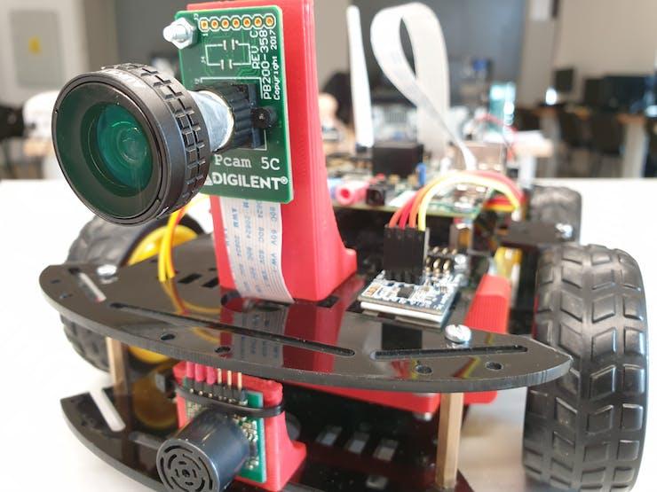 Zybo Autonomous Car - Digilent Projects