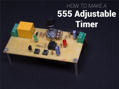 DIY 555 Adjustable Timer
