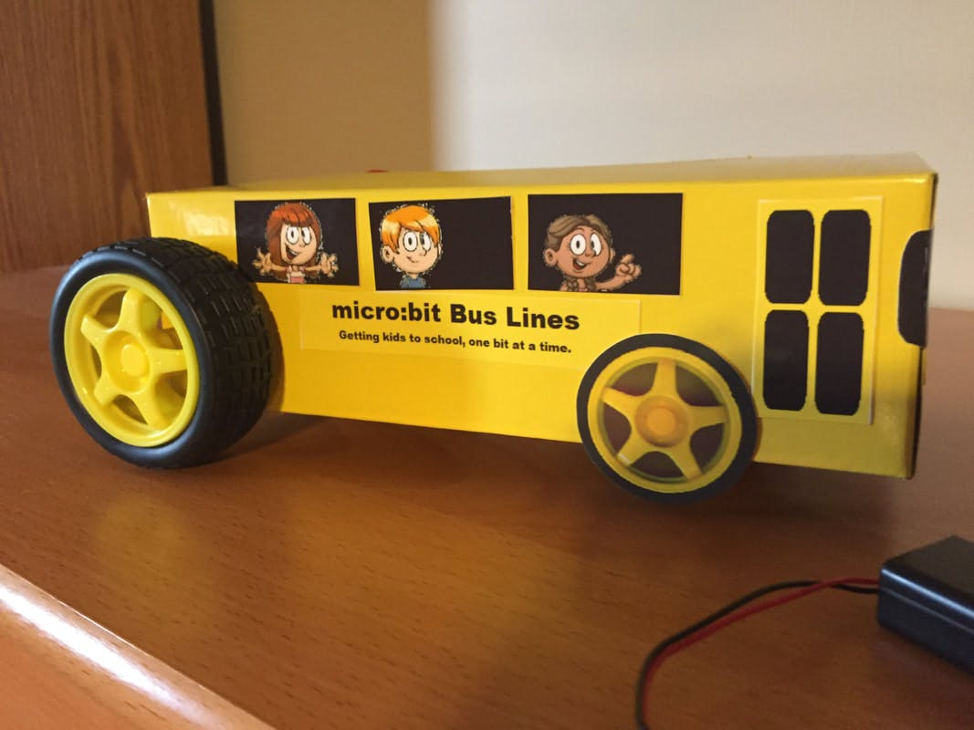 microBit Bus (Robot Car)