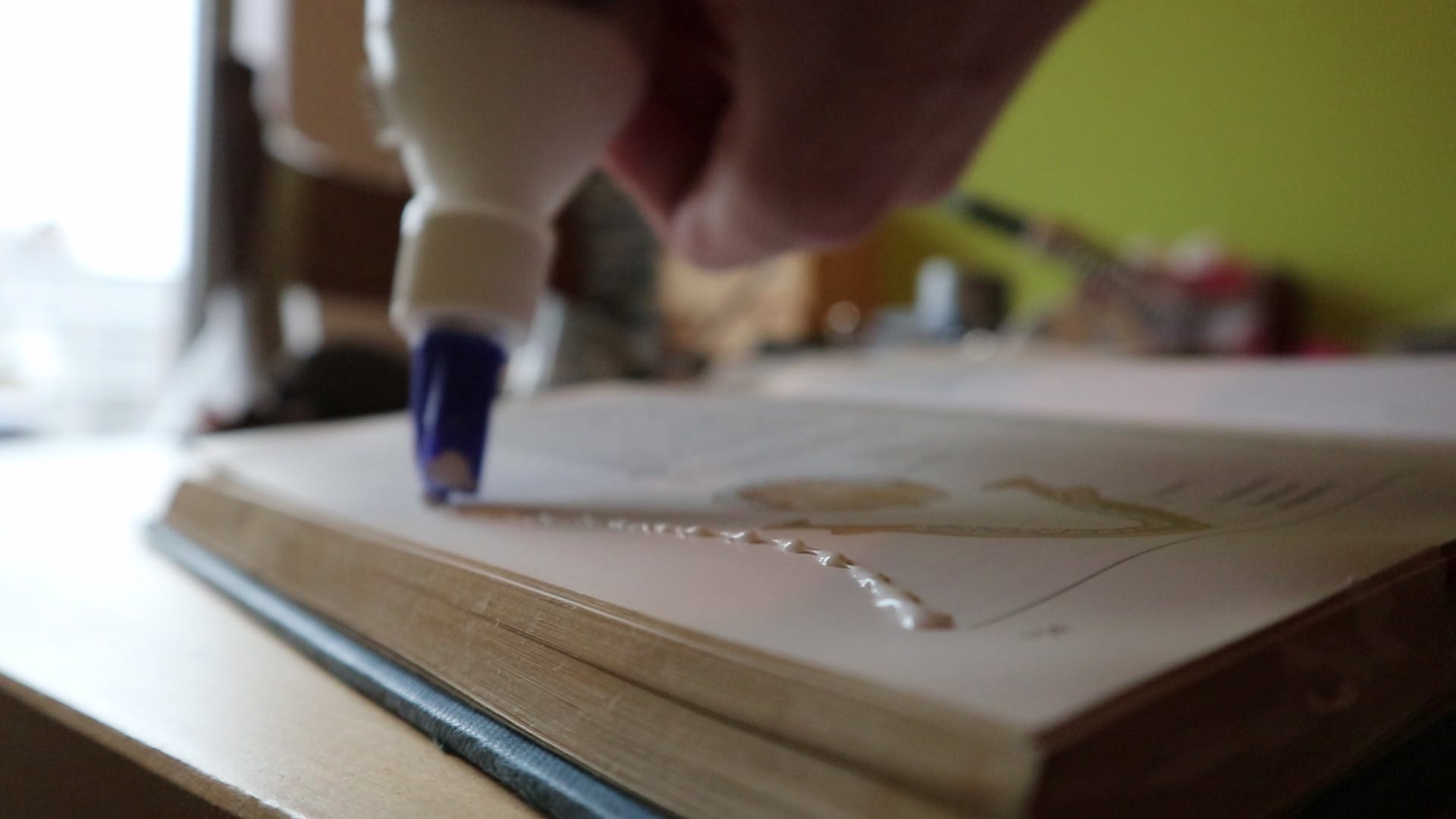 Gluing pages together