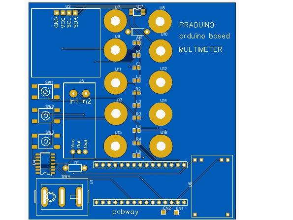Praduino Arduino-Based Multimeter