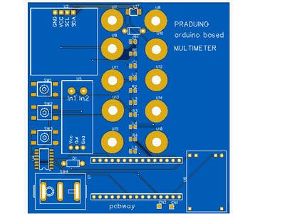 Praduino Arduino-Based Multimeter