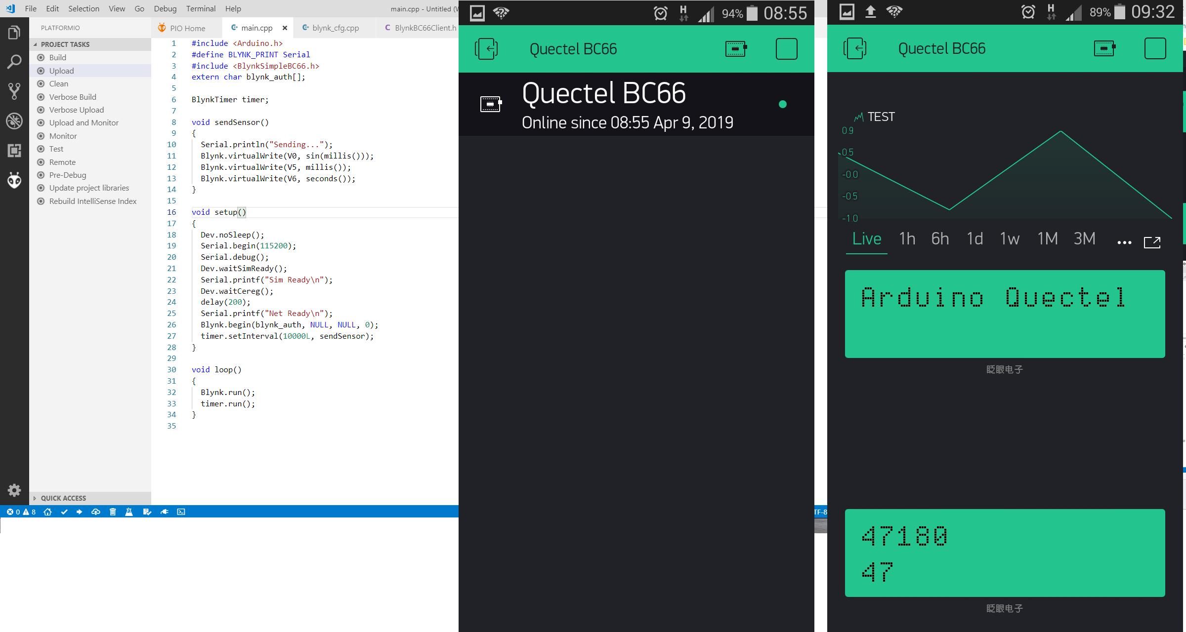 Quectel for PlatformIO - Hackster io