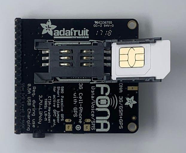 Adafruit FONA 3G M2M Commands Quickstart - Arduino Project Hub