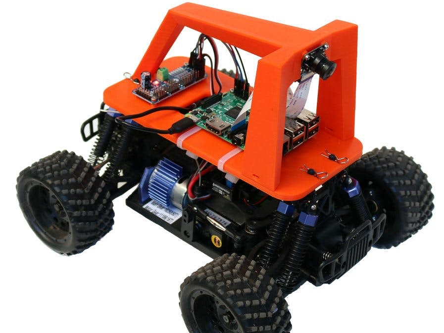 Using Deep Neural Network to Build a Self-Driving RC Car