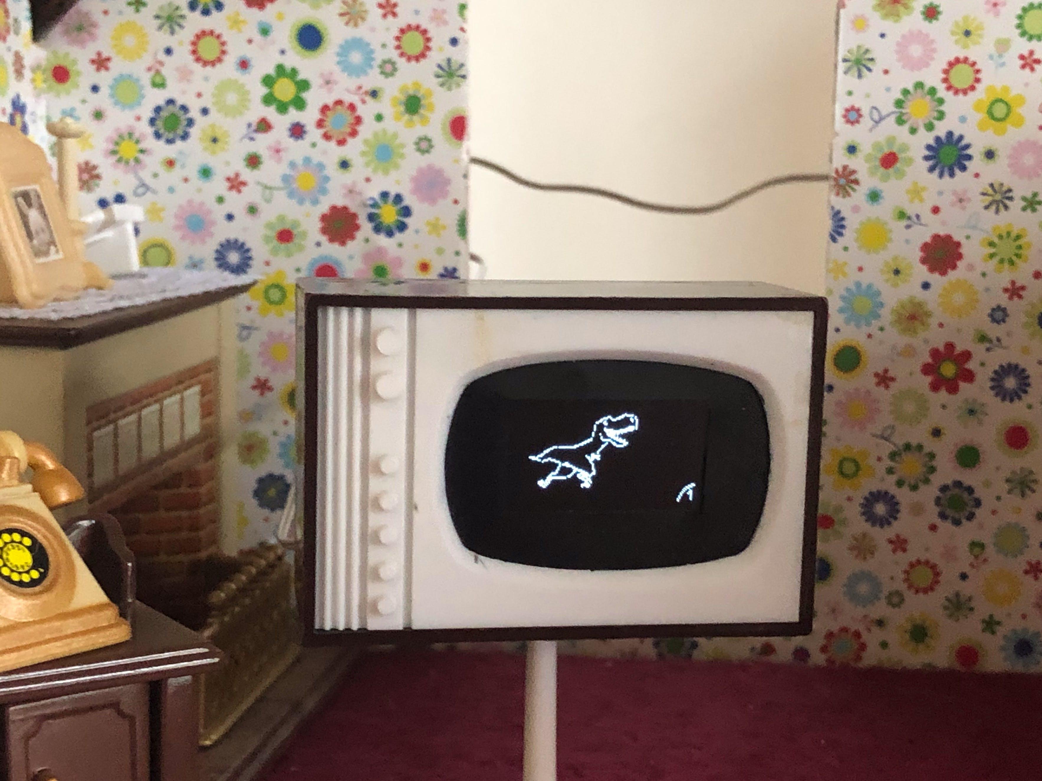 Arduino Dollhouse Mini TV