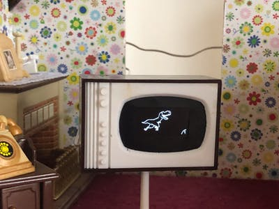 Arduino Dollhouse Mini TV