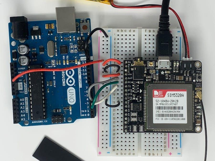 Adafruit FONA 3G M2M Commands Quickstart