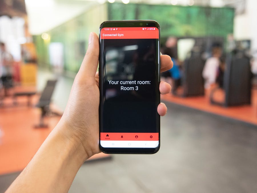 Gym Attendance Monitoring via Beacon