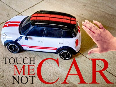 PSoC4 - Touch Me Not Car