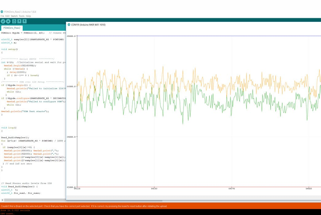 Arduino Zero PDM Microphone - Arduino Project Hub