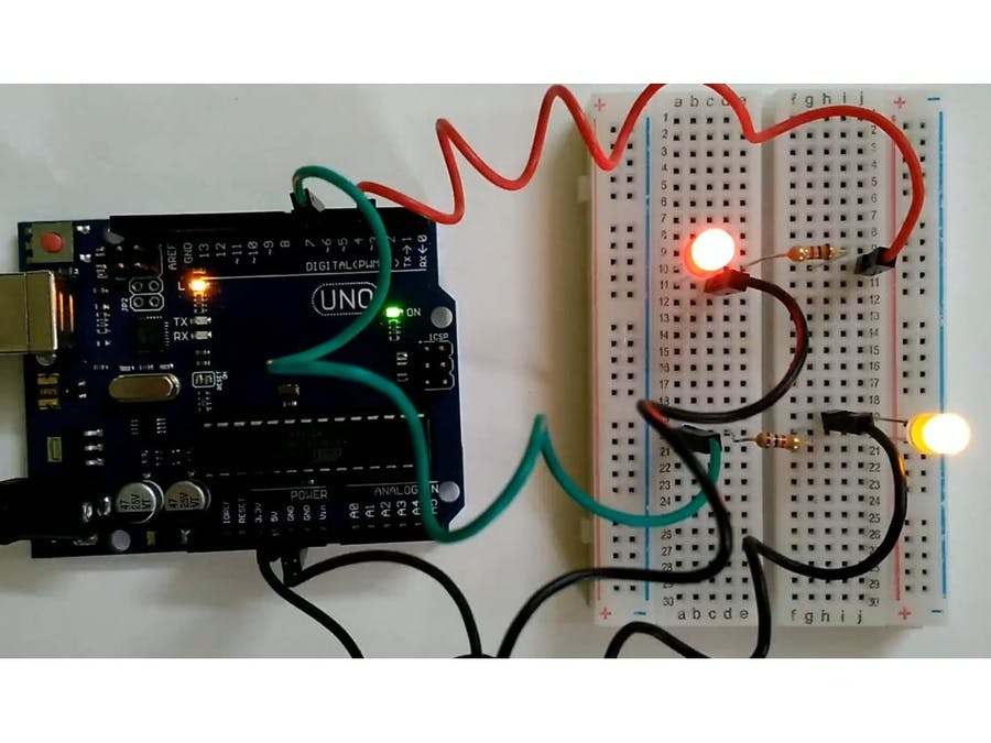Working with Two LEDs