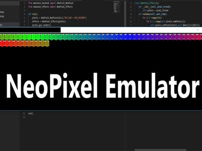 NeoPixel Emulator with Python