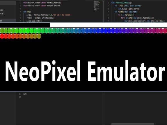 NeoPixel Emulator with Python