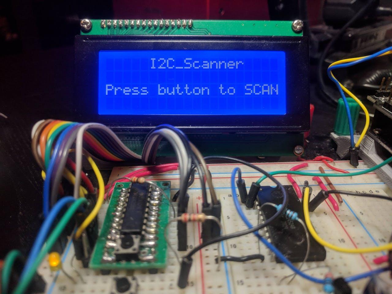 I2C Scanner - Hackster io