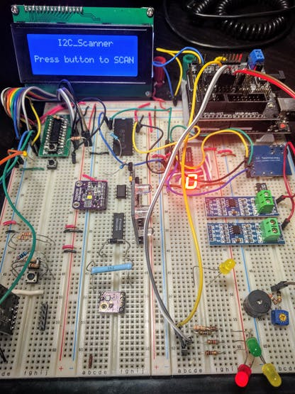 Pimped out breadboard