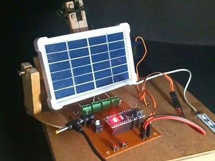 Sun Tracker Solar System Project