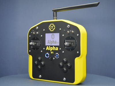 Alpha V1: Open-Source Arduino Base Remote Controller