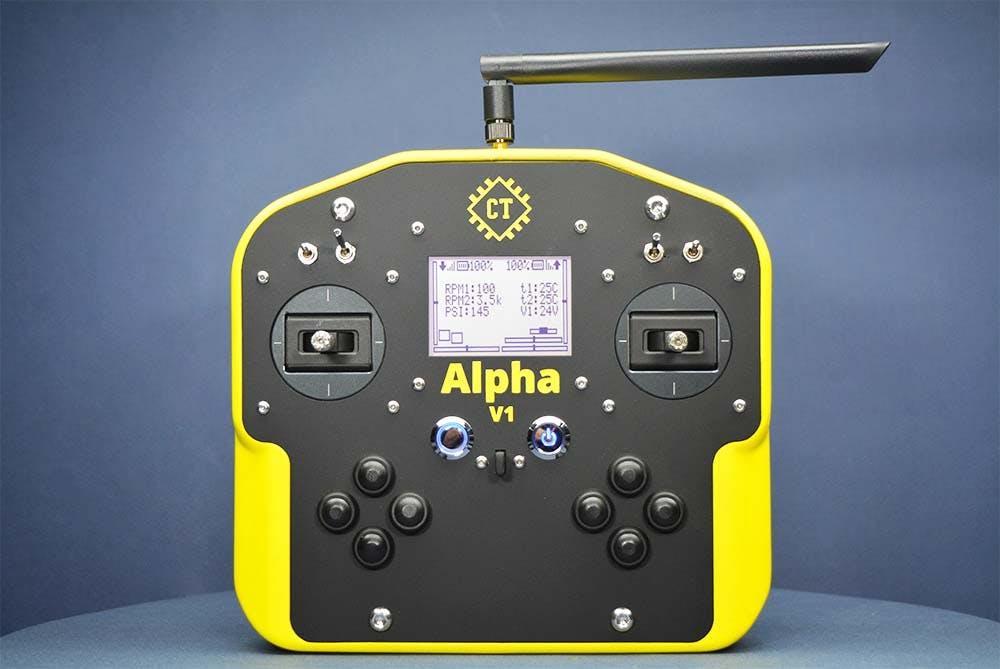 Alpha V1's Front View