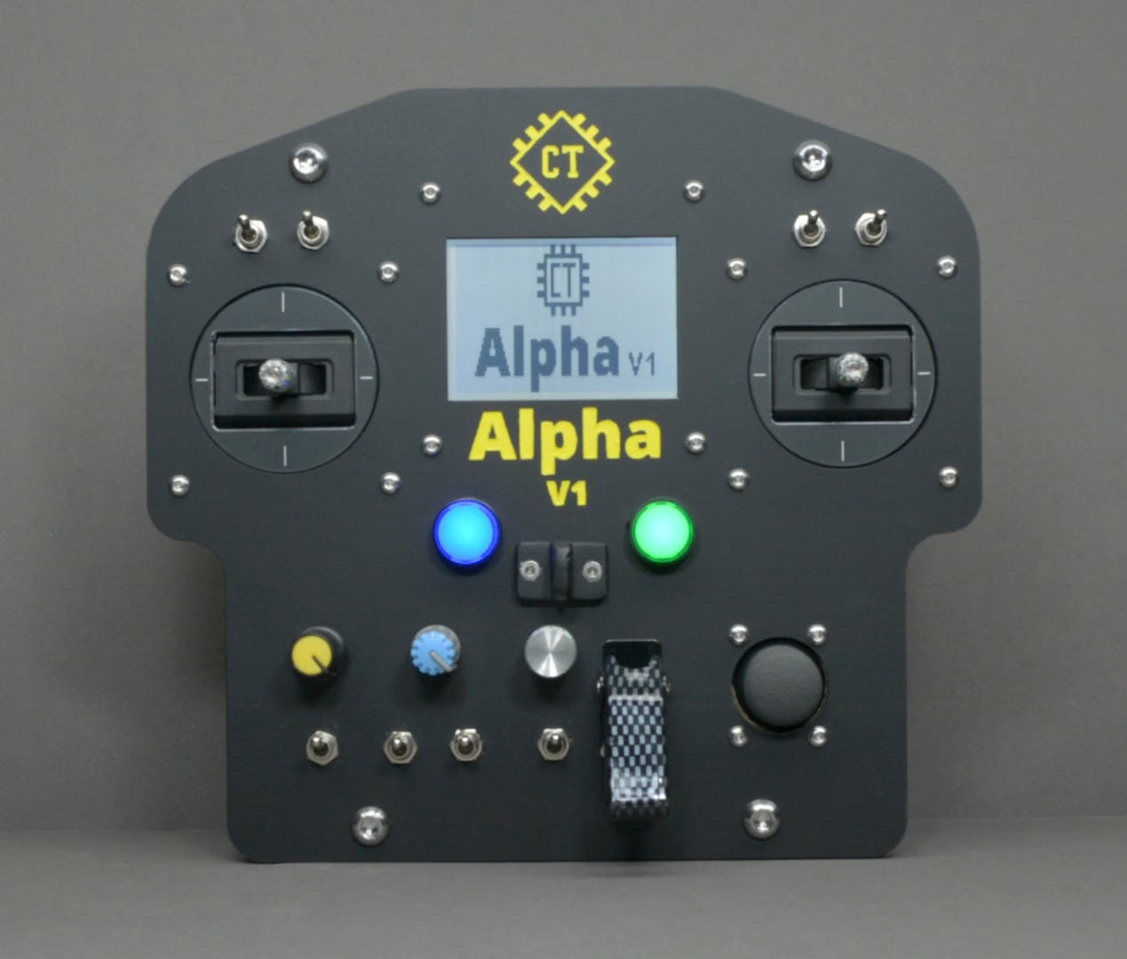 Alpha V1 with Different Input Devices (to Illustrate the Possibilities-1)