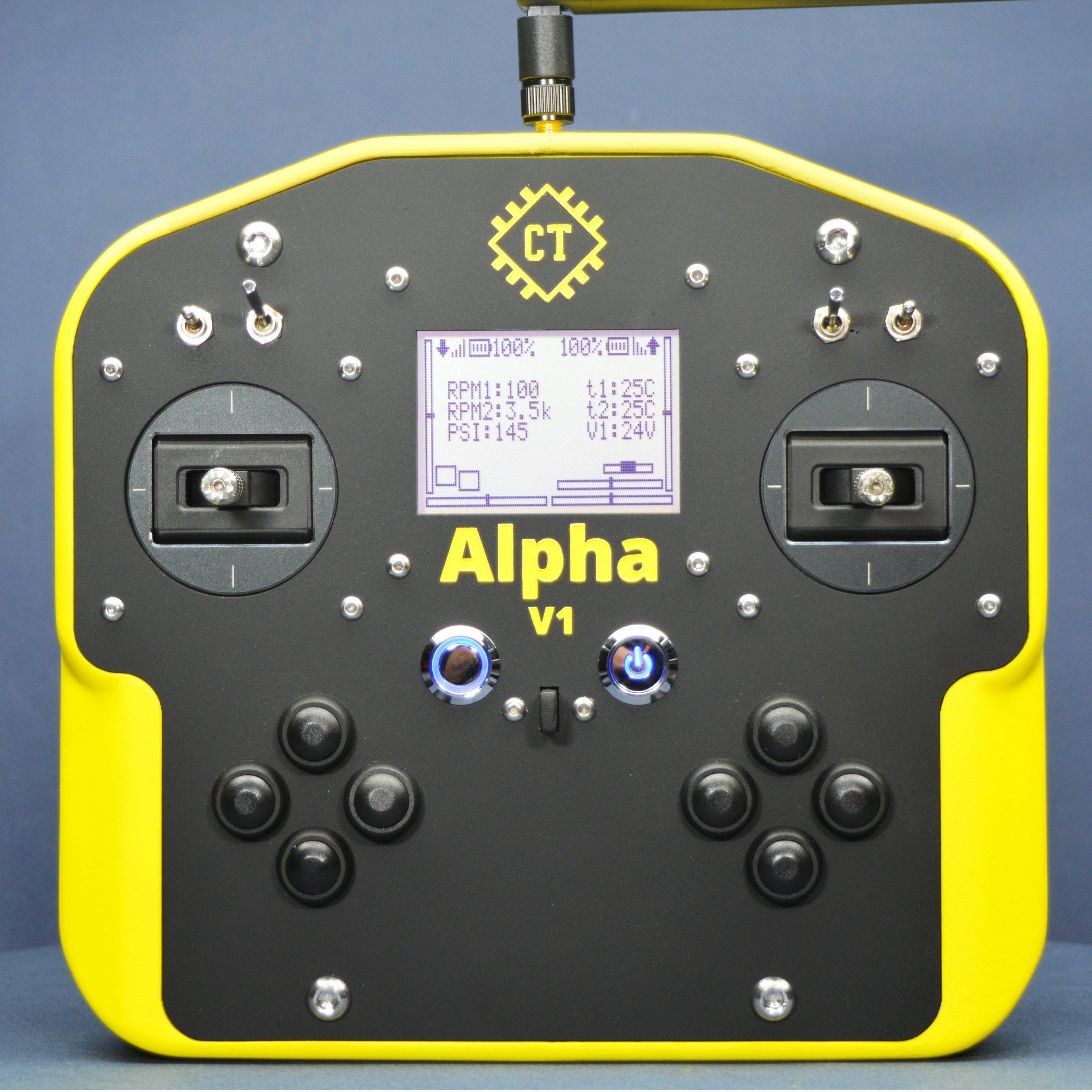 Alpha V1 Latest Prototype