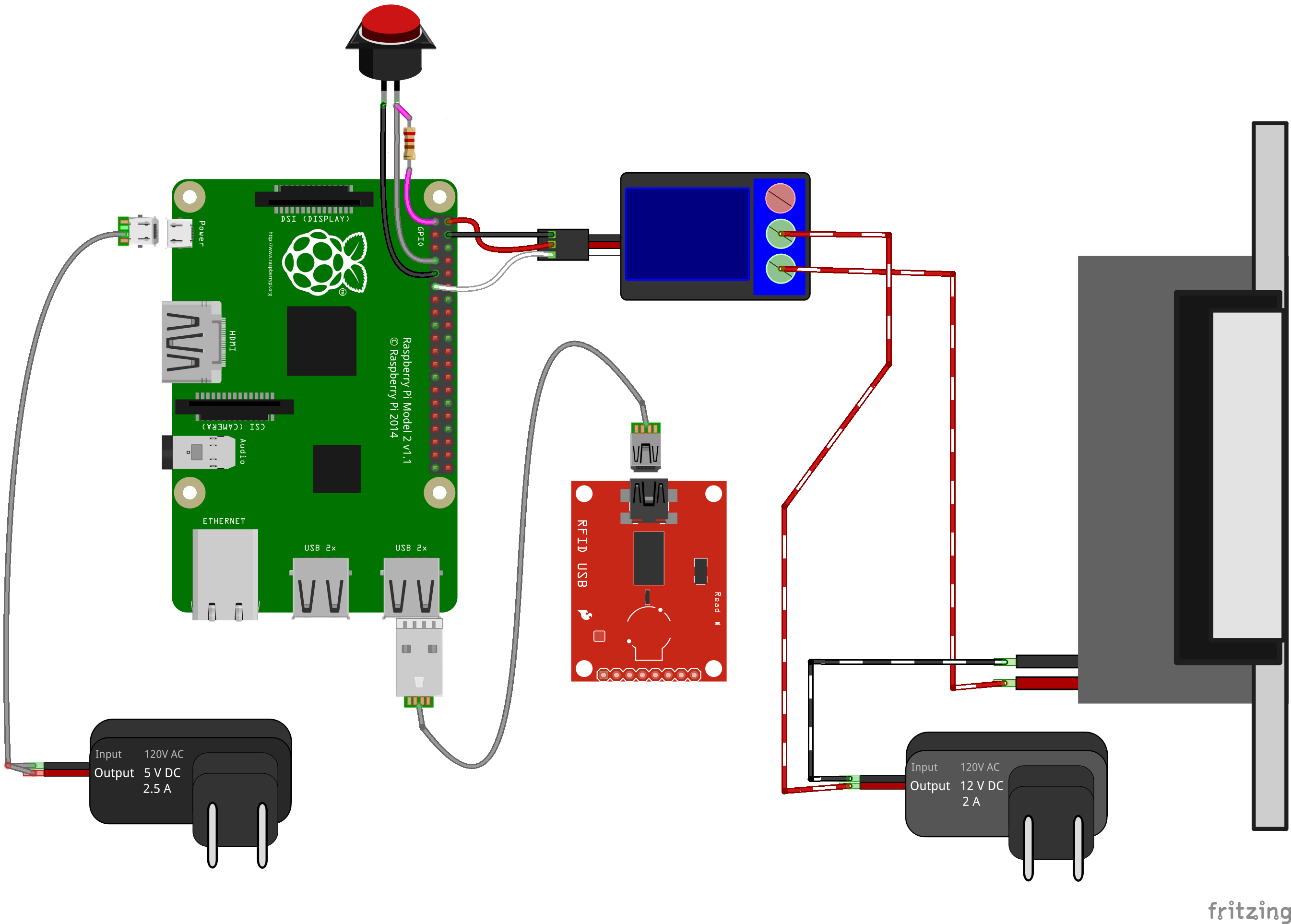 Raspberry Pi RFID Access Control System - Hackster io