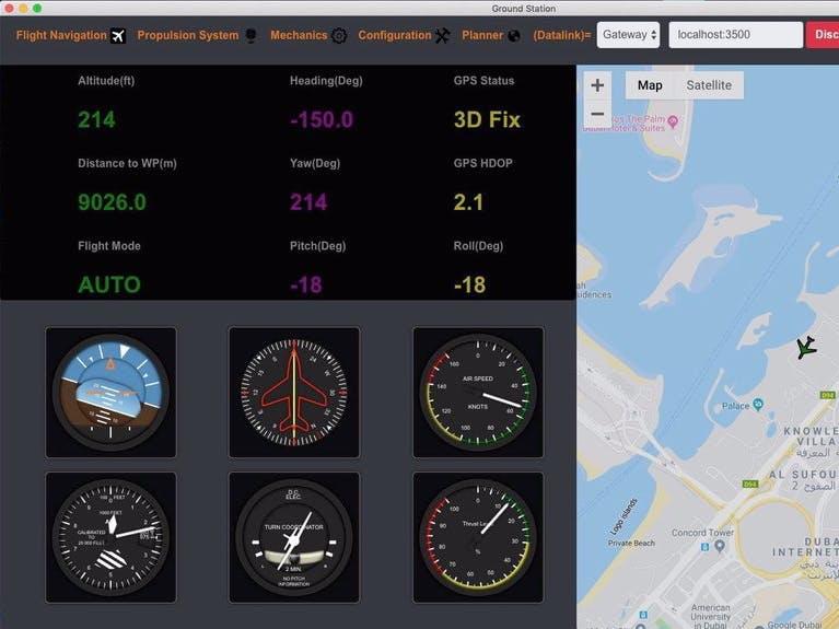 Autonomous Drone / UAV Project For Plane