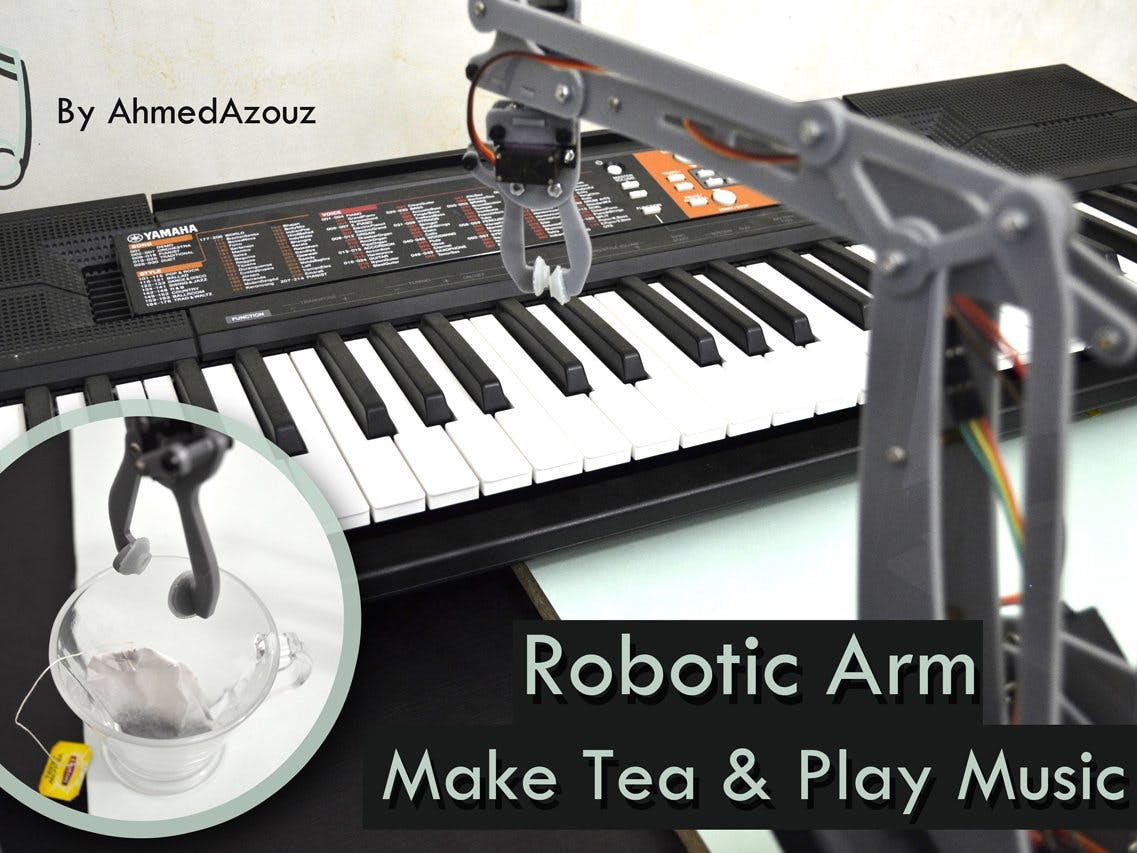 UR12 Musician & Assistant Robotic Arm