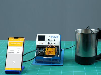 Learn Latent Heat by Real-Time Data Logging in Smartphone
