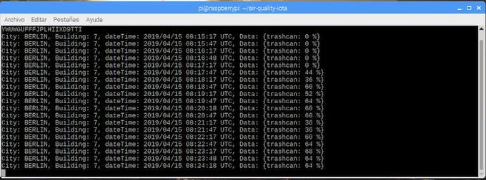 Receiving data