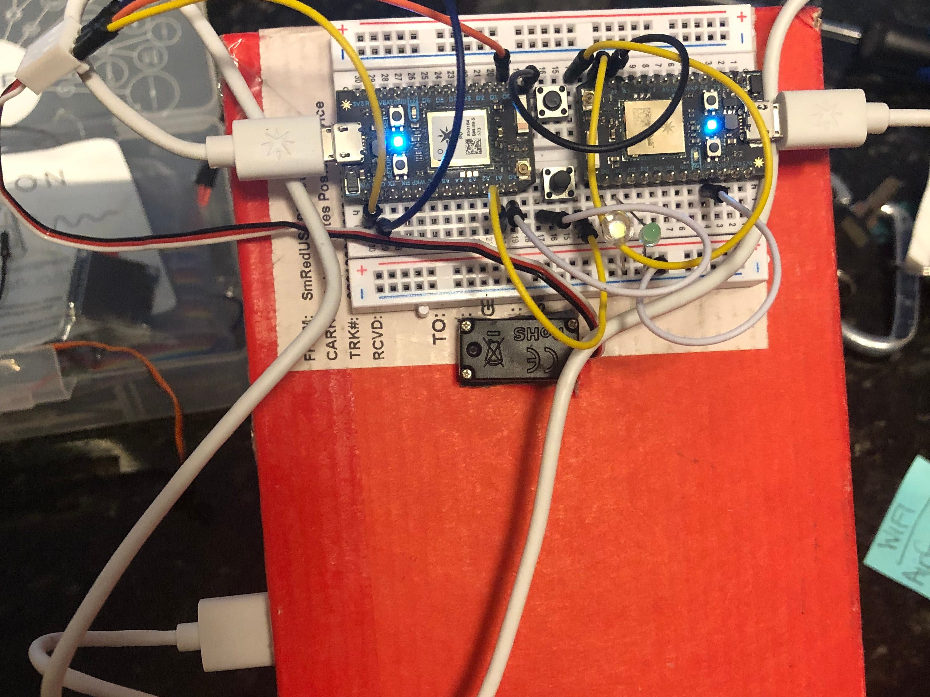 Automatic Deadbolt MEGR 3171 IoT Project