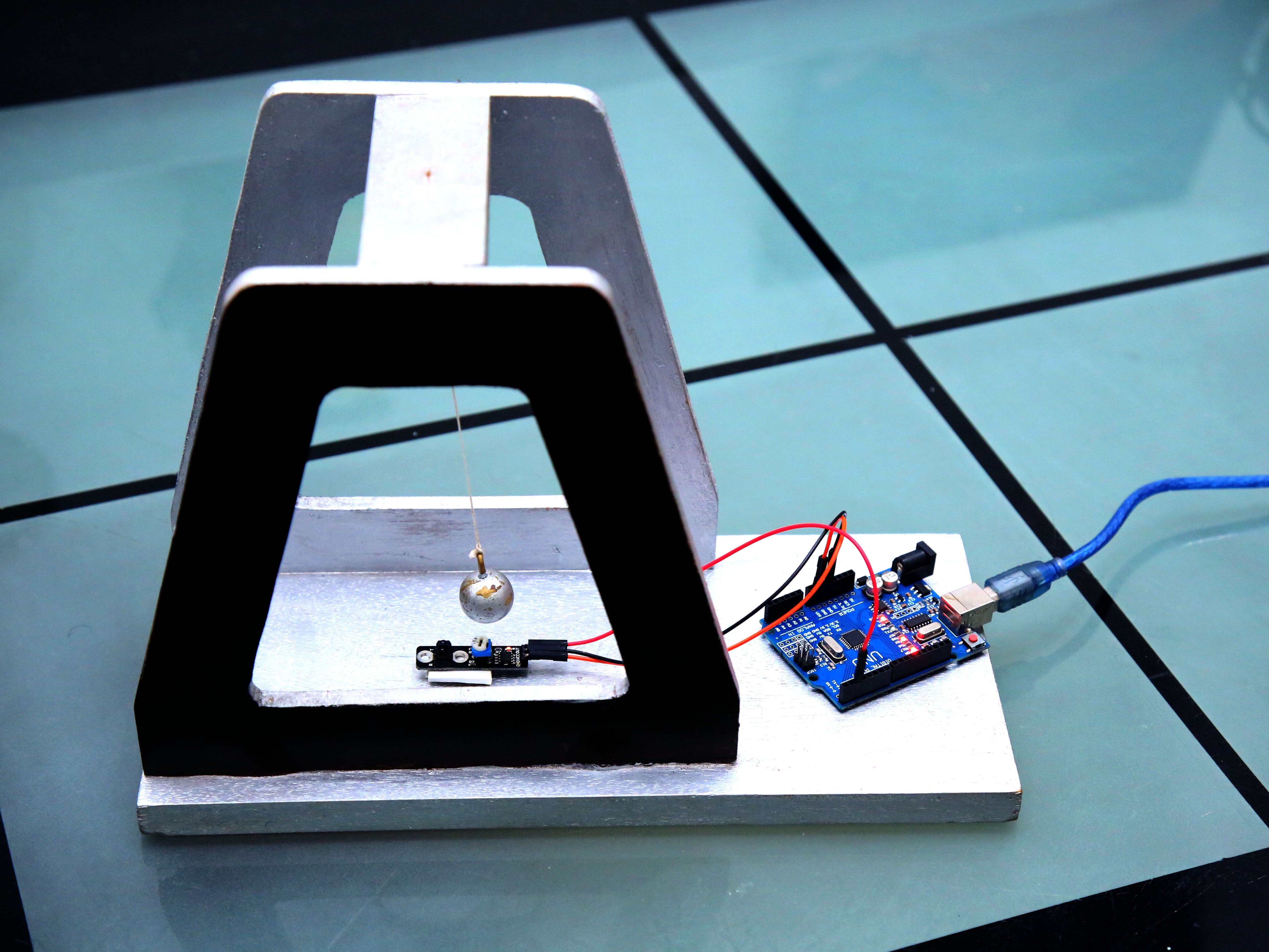 Automated Simple Pendulum
