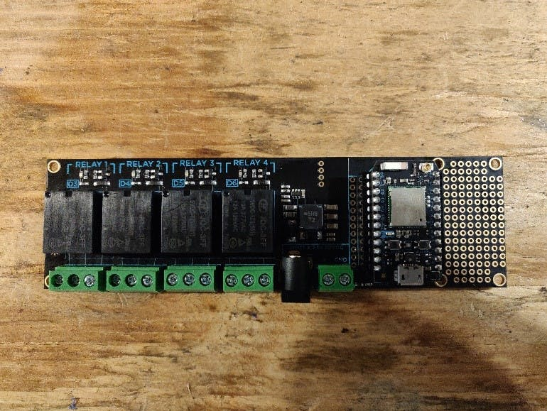 Particle Relay Shield with Photon