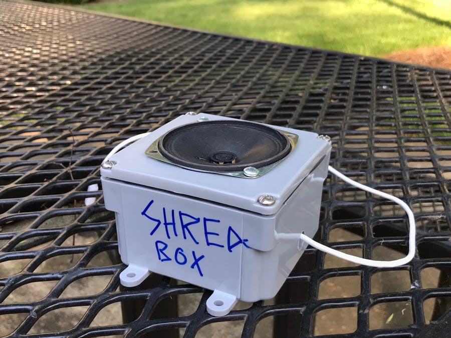 Multi-Device Wifi Communication - The Shred Box