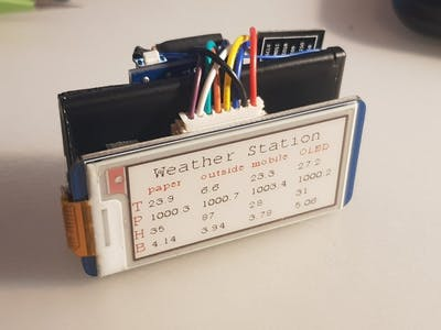 Building ESP8266 Weather Station (Part I)