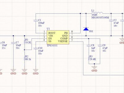 A Variable Step-Down DC to DC Converter
