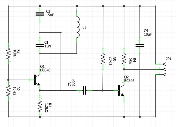 Collpits Oscillator circuit