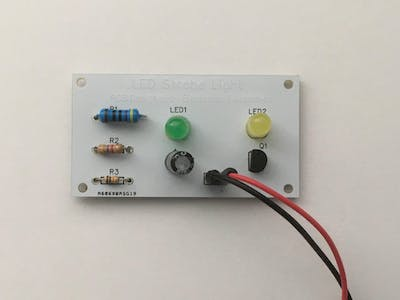 LED Strobe Light Circuit by PCBGOGO