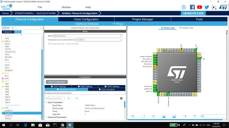 Introduction to STM32 Nucleo USART Communication - Hackster io