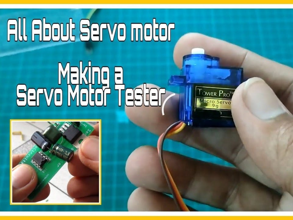 All About Servo Motors and Servo Motor Tester