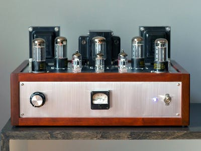 Scratch-Built 20W Tube Stereo