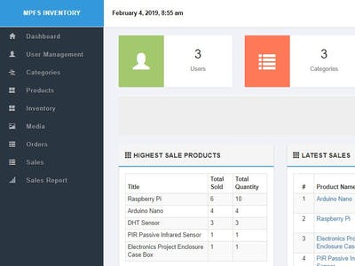 Serving Your Own Inventory Management System