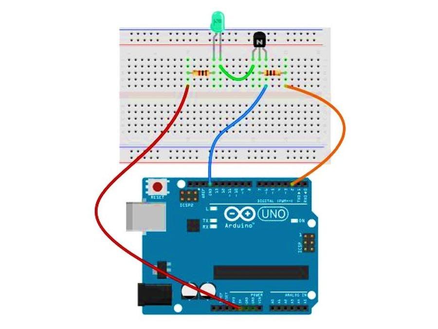 Switching Using Transistor