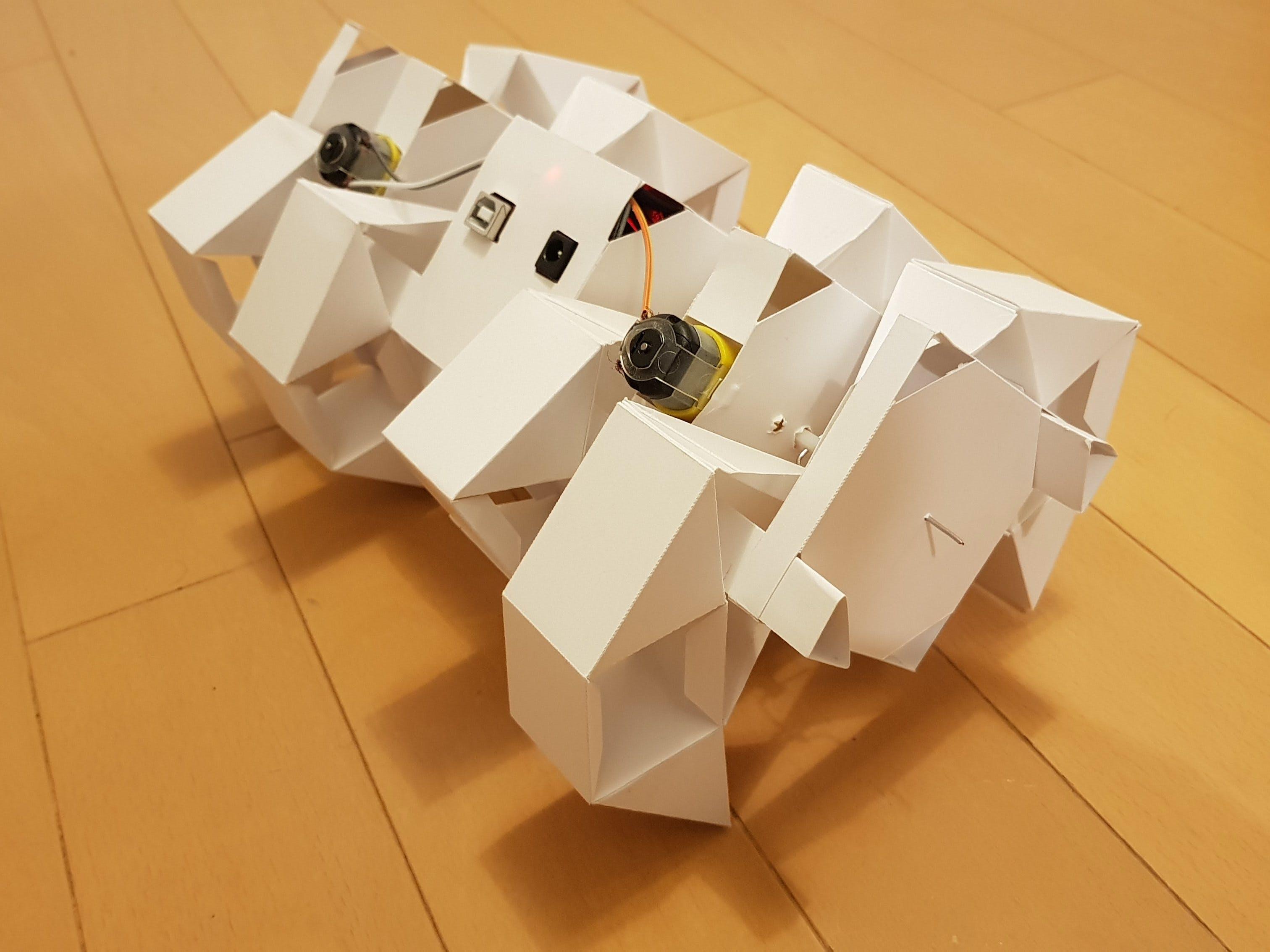 Origami Remote Control Robot