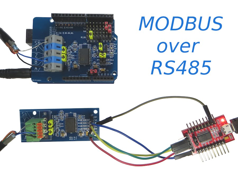 RS-485 and Arduino Uno