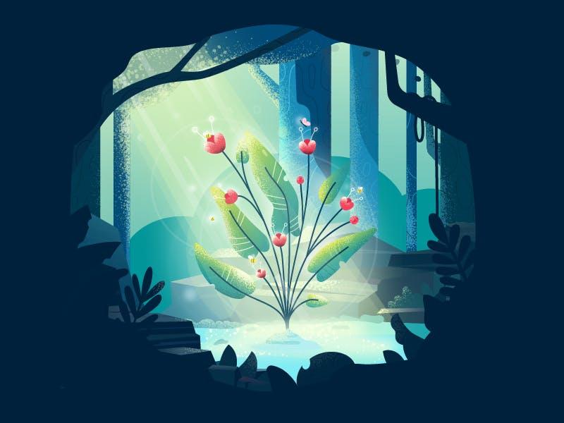 Magical flower citql29mxc