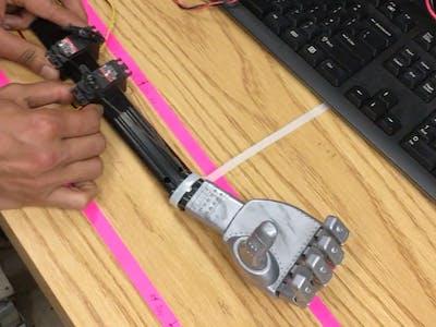 Servo Motor Robotic Hand Prototype