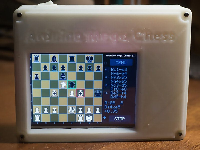 Arduino Mega Chess II